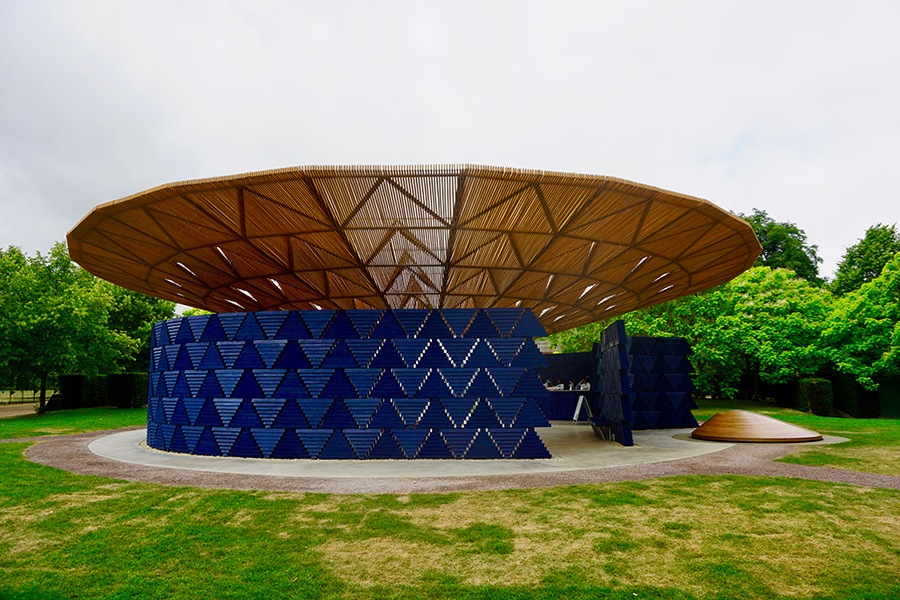 Serpentine Pavilion designed by Diebedo Francis Kere
