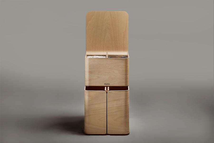 wooden recycle bin ByALEX